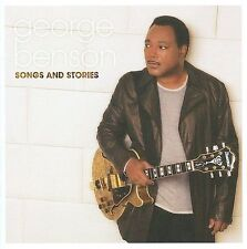 FREE US SHIP. on ANY 2 CDs! NEW CD George Benson: Songs & Stories