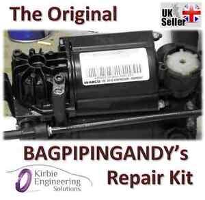 Audi A8, S8, Q7 Wabco Air Suspension Compressor Pump Seal Repair Kit