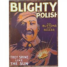 Your Country Blighty Polish Metal Wall Art Sign