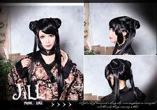 Japan Anime Lolita Cosplay Cardcaptor Sakura RI Meirin Side Buns Wig【jplh005】
