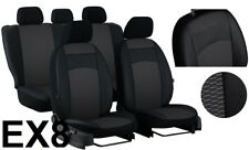 "TOYOTA RAV4 Mk3 2006-2012 ECO LEATHER FABRIC ""ROYAL"" SEAT COVERS MADE TO MEASURE"