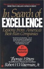 In Search of Excellence: Lessons from Americas Best Run Companies by Jr. Waterma