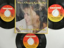 LOT OF 4 MARY-CHAPIN CARPENTER HIT 45's+1P(copy)[Shut Up And Kiss Me]  THE 90's!