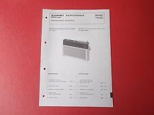 Blaupunkt Bongo orig.Service Anleitung Manual 7654450