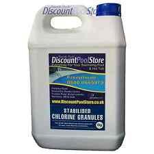 Stabilised Chlorine Granules Swimming Pool Spa Tub 5kg