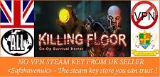 Killing floor Steam key NO VPN Region Free UK Seller