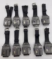 Transformers Watch Colt Combat Custom Gun Watch LOT OF 10 TESTED W/ MANUAL