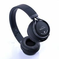 Metal HiFi Stereo Sport Bluetooth Headphones headset for CellPhone/Laptop/Tablet