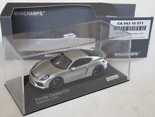 Minichamps 1/43 Porsche Cayman GT4 Typ 981 cartima CA04316071 schwarze GT3 Räder