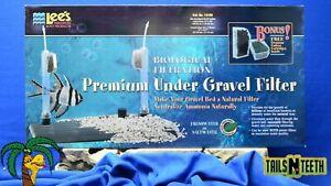 """Lee's Premium Under Gravel Filter for 40/55 Gal Aquariums - 12"""" x 48"""" #13160"""