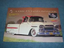 "1959 Chevy Fleetside 3100 Pickup Article ""Low-Flying Apache"""