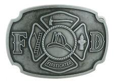 Fire Department Firefighter Original Metal Belt Buckle