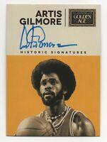 2014 Golden Age Historic Signatures Artis Gilmore Chicago Bulls ABA NBA HOF