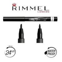 RIMMEL Scandaleyes Thick & Thin EYELINER Liquido Waterproof Delineador Negro