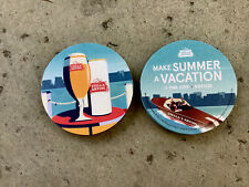 """Stella Artois   Beer Coasters You Receive """"16"""" Coasters. Make Summer A Vacation"""