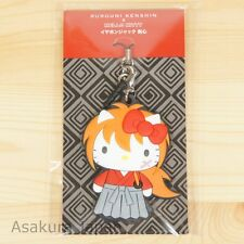 Rurouni Kenshin x Hello Kitty Kenshin Rubber Strap Earphone Jack Plug Limited