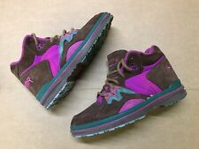RARE LA Gear Hiking Boots SIZE 7 Suede True Vintage shoes nike jordan Spell Out