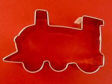"Ann Clark  Train Engine 4 5/8 ""  Cookie Cutter  Tin Plated Steel. USA"