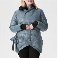 NWT Universal Standard 'Stormy Weather' Kanda Puffer Coat
