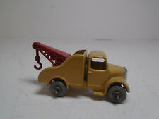 Vintage Matchbox Lesney #13A  Wreck Truck Grey METAL Wheels  ORIGINAL EXCELLENT!