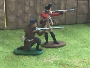 British Grenadier & Minuteman War of Independence 7 year war Jacobite Rebellion