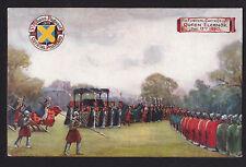 1907 Tuck funeral cortege Queen Eleanor St. Albans Pageant Uk postcard