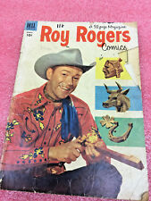 Bs7 Dell Roy Rogers Comics #63 March 1953 Vintage Comic book used