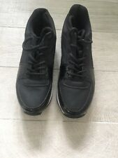 Black White Flatform Creepers Size 6