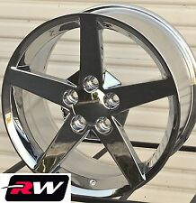 "17 x8.5"" 18 x9.5 inch Wheels for Pontiac Firebird 1993-2002 Chrome C6 Style Rims"