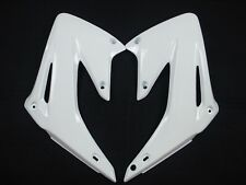 Honda CRF450 CRF450R 2002-2004 UFO Radiator Scoops White 3693 041
