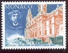 TIMBRE DE MONACO  N° 1180 ** SALLE GARNIER / CHARLES GARNIER ET FACADE SUD OPERA