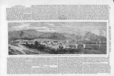 1870 FRANCO PRUSSIAN WAR View of St INGBERT French Capture of Saarbruck (074)
