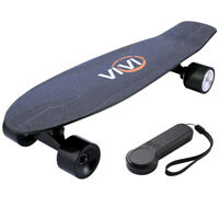 2000mAh Electric Skateboard, TOP SPEED 10MPH 350W Longboard with Remote Control