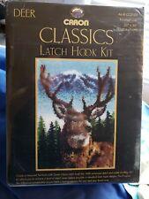 "New listing Caron Classics Latch Hook Kit #Cc0102 Deer 20""x30"""