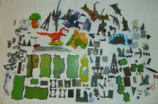 Dragon Lego Bricks Blocks Kit Dinosaurs Flat Green Plates + EXTRAS Rare