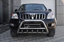 Toyota Land Cruiser Prado Eje empujar a-bar, Acero Inoxidable Bull Bar 2002-2009