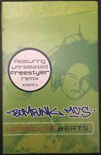 BOMFUNK MCs - UPROCKING BEATS - Cassette Single - 2000 - TESTED - Excellent