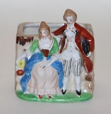 New listing Vintage Made in Occupied Japan Couple Ceramic Hand Painted Planter