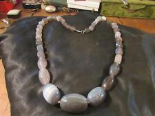 Agate Necklace Vintage Costume Jewellery (Unknown Period)