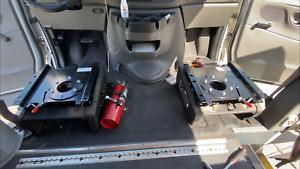 FORD ECONOLINE DRIVER SEAT SWIVEL