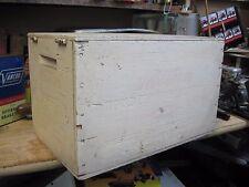 EMPTY WESTERN SUPER X wood wooden crate box shot shell 12 GAUGE ORIGINAL SHOTGUN