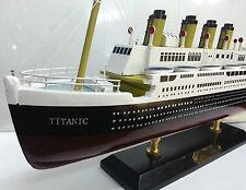 Titanic Model Ship Wooden, Nautical Gifts Model Ship, 50cm x 24cm Ship Boxed