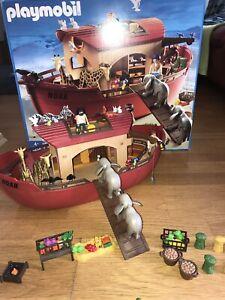 Playmobil Arche Noah 3255 Super Zustand 4+ Mit Sehr Vielen Extras Top