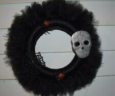 Halloween Handmade Tulle Wreath New