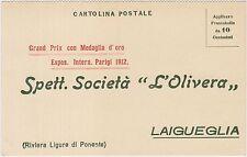 LAIGUEGLIA - SOCIETA' L'OLIVERA - OLIO D'OLIVA (SAVONA)