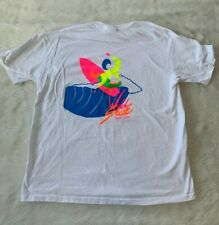 Vintage Wild Side Surf Wear Graphic T-Shirt Made In USA Size XL
