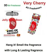 JELLY BELLY Very Cherry CAR Air Freshener Scent 3D Bean Sweet smell