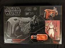Star Wars Black Series.. Rey with Speeder...unopened