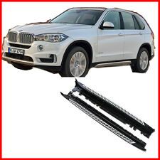 For 14-17 BMW F15 X5 xDrive Aluminum Running OE Style Boards Pair Set Side Step