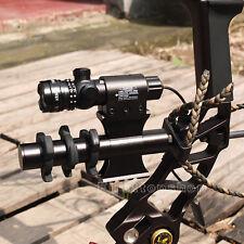 Tactical Green Dot Laser Sight Rifle Scope Switch Picatinny Rail Barrel Mounts